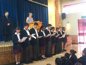 Preparatory School Leaders Assembly - Singing