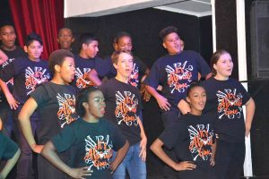 Form One Production - singing