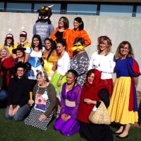 Preparatory School reading day and dress up