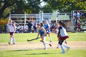 High School Winters Sports Day Girls Hockey