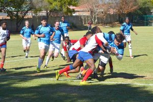 High School Winters Sports Day Rugby Tackle