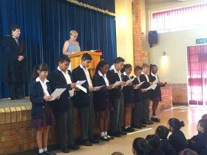 Preparatory School Leaders Assembly - Singing