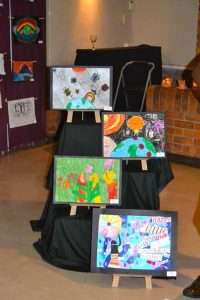 Art Exhibition student paintings