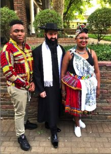 Students celebrate their culture in traditional clothing
