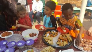Pre-Prep Heritage Day cuisine