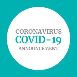 Coronavirus COVID-19 Announcement