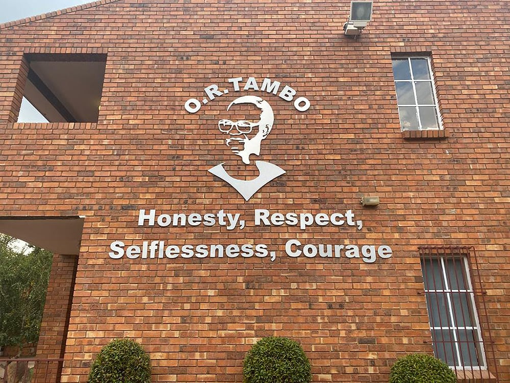 O.R. Tambo Memorial Wall Unveiling